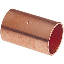 Commodity Copper Fittings 34CO Coupling 3/4 Inch Copper x Copper Wrot Copper 600DS
