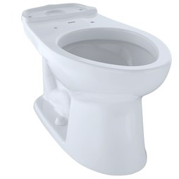 Toto C744E#01 Eco Drake Close Coupled Elongated Toilet Bowl Only