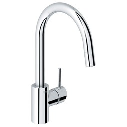 Grohe 32 665001 Concetto Single Handle Pull Down Kitchen Faucet