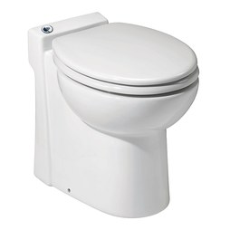 Saniflo 023 Sanicompact 48 One-Piece Toilet and Macerator