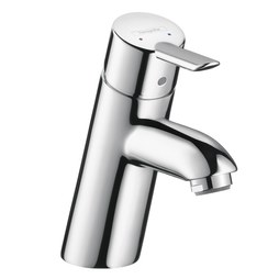 Hansgrohe 31701001 Focus S Single Handle Single Hole Bathroom Faucet with Drain