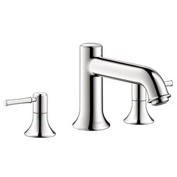 Hansgrohe 14313001 Talis C Two Handle 3-Hole Roman Tub Filler Trim without Diverter