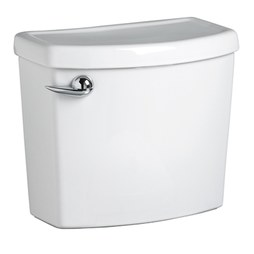 American Standard 4000.101.020 Cadet 3 FloWise Toilet Tank with Left-Hand Lever