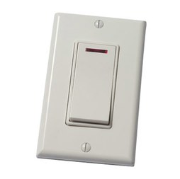 Panasonic FV-WCSW11-W WhisperControl Bathroom Fan Switch with Single Function Control