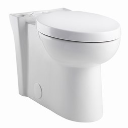 American Standard 3075.120.020 Studio Right Height Elongated Toilet Bowl with Seat
