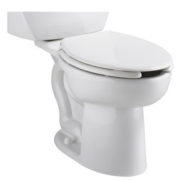 "American Standard 3517A.101.020 Cadet Pro Right Height Elongated Toilet Bowl with 12"" Rough-In"