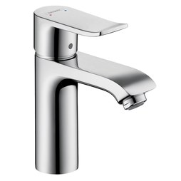 Hansgrohe 31080001 Metris C 110 Single Handle Single Hole Bathroom Faucet with Pop-Up Drain