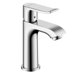 Hansgrohe 31088001 Metris 100 Single Handle Single Hole Bathroom Faucet with Pop-Up Drain