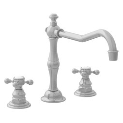 Newport Brass 942/20 Chesterfield Two Handle Widespread Kitchen Faucet without Sprayer