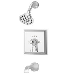 Symmons S-4502-X Canterbury Two Handle Tub/Shower System with Handshower and Valve