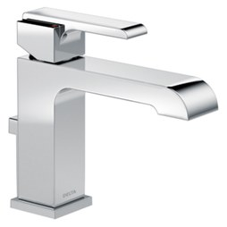 Delta 567LF-MPU Ara Single Handle Centerset Bathroom Faucet with Drain