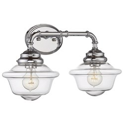 Savoy House 8-393-2-11 Fairfield Two-Light Bathroom Vanity Fixture
