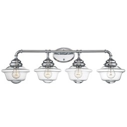 Savoy House 8-393-4-11 Fairfield Four-Light Bathroom Vanity Fixture