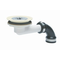 Mustee 60.300ABN Shower Drain Assembly Bone