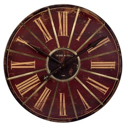 IMAX 16077 Red Large Wall Clock