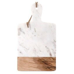 IMAX 82511 Addy Marble and Wood Cheese Board