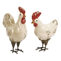 Quinn Roosters Set of 2