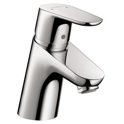 Hansgrohe 31539001 Focus E 70 Single Handle Single Hole CoolStart Bathroom Faucet without Drain