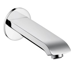 Hansgrohe 31494001 Metris E Wall-Mount Bathtub Spout without Diverter