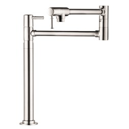 Hansgrohe 04219830 Talis C Two Handle Deck Mount Pot Filler Faucet