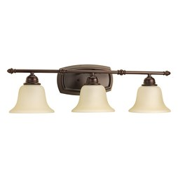 Progress P2137-20 Spirit Three-Light Bath Lighting Fixture