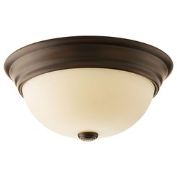 Progress P3501-20 Spirit Two-Light Flush Mount Ceiling Light