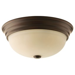 Progress P3502-20 Spirit Three-Light Flush Mount Ceiling Light