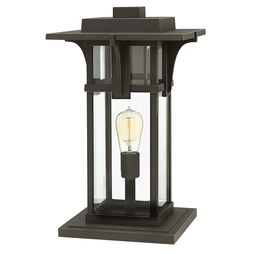 Hinkley 2327OZ Manhattan Single-Light Pier-Mount Lantern