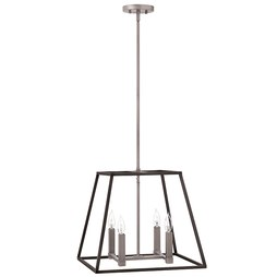 Hinkley 3334DZ Fulton Four-Light Stem-Hung Pendant