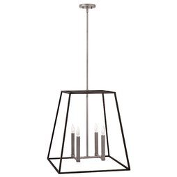 Hinkley 3336DZ Fulton Four-Light Stem-Hung Pendant