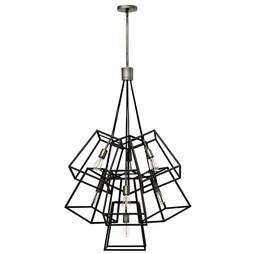 Hinkley 3357DZ Fulton Seven-Light Large Foyer Pendant