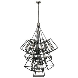 Hinkley 3358DZ Fulton Thirteen-Light Large Foyer Pendant