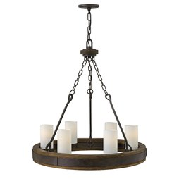 Hinkley FR48436IRN Cabot Six-Light Single-Tier Chandelier