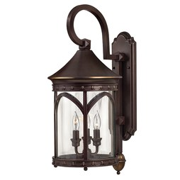 Hinkley 2314CB Lucerne Three-Light Medium Wall-Mount Lantern