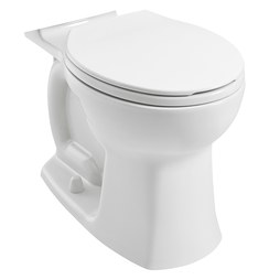American Standard 3519B101.020 Edgemere Right Height Round-Front Toilet Bowl