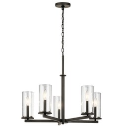 Kichler 43999OZ Crosby Five-Light Chandelier