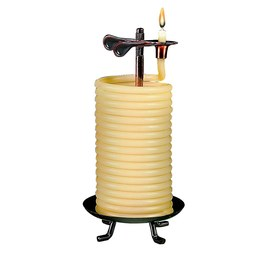 48-Hour Self-Extinguishing Vertical Candle