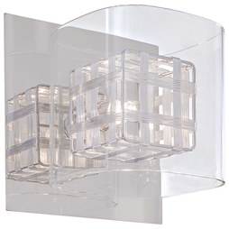 George Kovacs P800-077 Jewel Box Single-Light Bathroom Wall Sconce