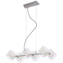George Kovacs P803-077 Jewel Box Six-Light Island Chandelier