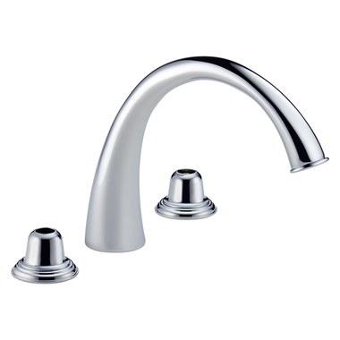 Brizo 6720 pc lhp providence classic roman tub filler - Brizo providence bathroom faucet ...