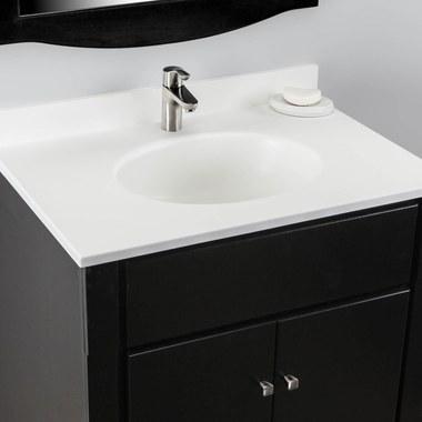 Single Bathroom Vanity Tops With Sinks, Bathroom Vanities With Tops Single Sink