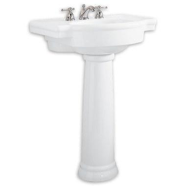 American Standard 0282 800 020 Retrospect Pedestal Lavatory