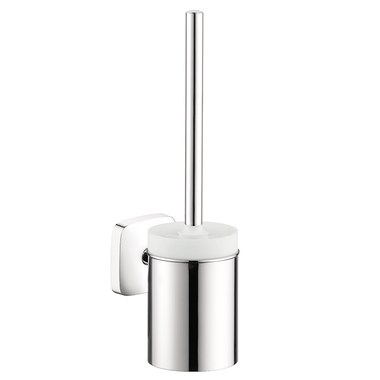 Chrome Hansgrohe 40522000 S//E Wall Mounted Toilet Brush