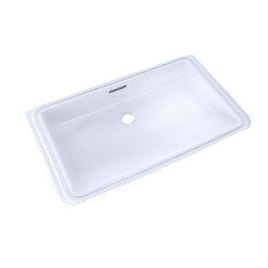 Toto lt191g 01 lavatory for Toto undermount bathroom sink