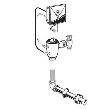 American Standard 606b210 007 Selectronic Flush Valve