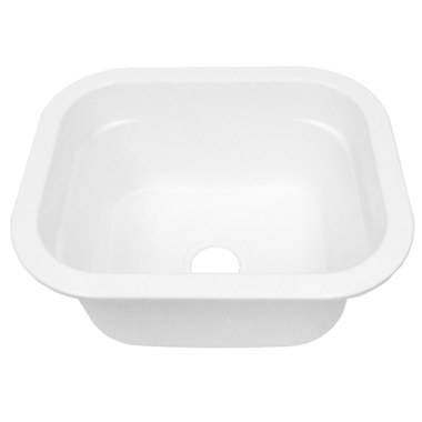 MUSTEE 2218 UNDER MOUNT LAUNDRY SINK WHITE