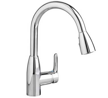 High arc kitchen faucet spout