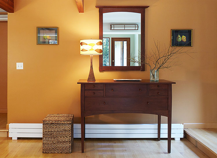 Baseboard heaters add supplemental heat to any room.