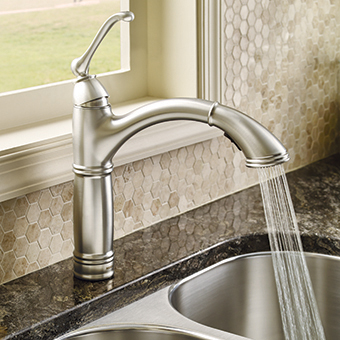 Traditional Kitchen Sink Faucet