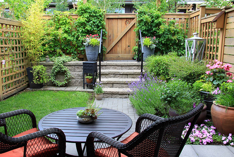 Container gardens are an easy way to add color and variety to your landscape.